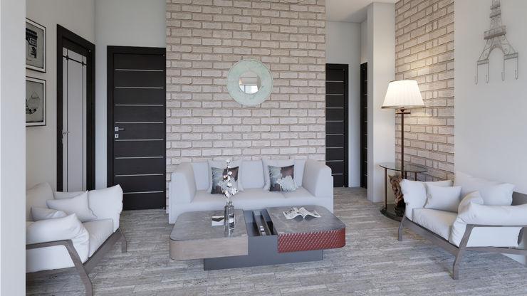 Diseño y decoración de interiores Pereira Arkiline Arquitectura Optativa Salas modernas