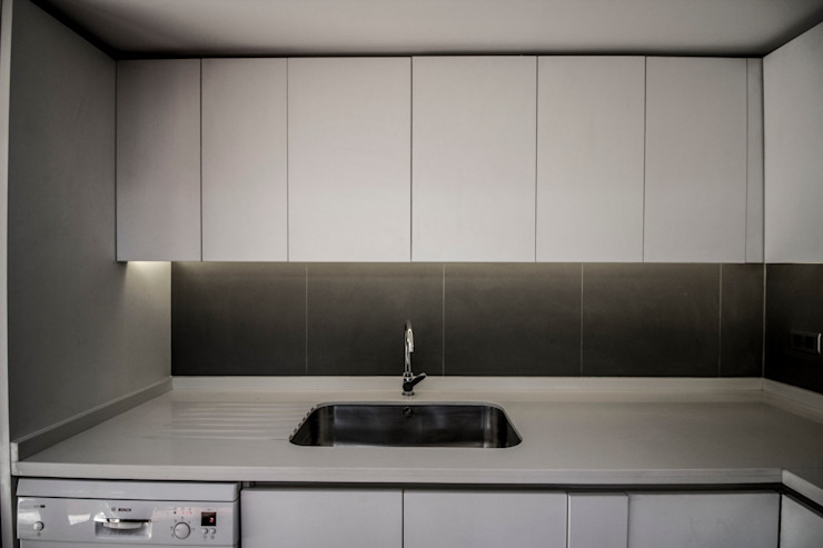 Cocina arquitectura oficio spa CocinaAlmacenamiento y despensa