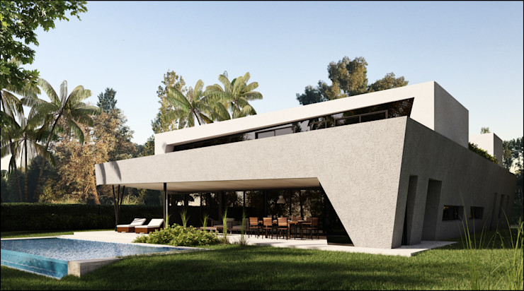 Maximiliano Lago Arquitectura - Estudio Azteca Moderne huizen
