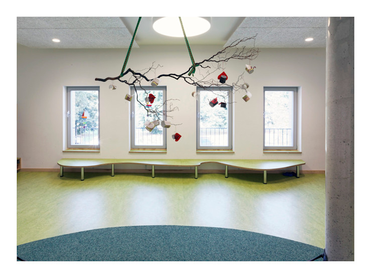 Weinkath GmbH Floors Wood-Plastic Composite Green