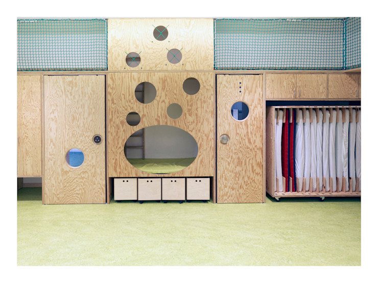 Weinkath GmbH Baby room Wood Green