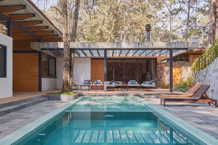 Saavedra Arquitectos 現代房屋設計點子、靈感 & 圖片 鐵/鋼