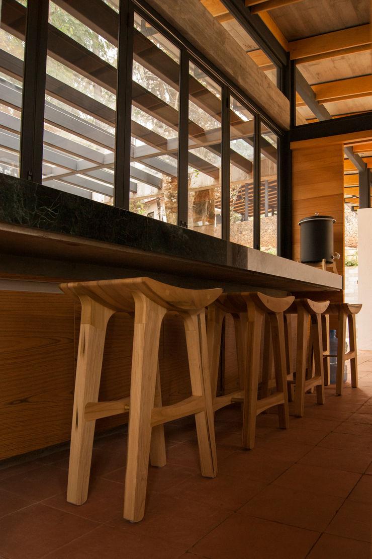Saavedra Arquitectos 置入式廚房 木頭