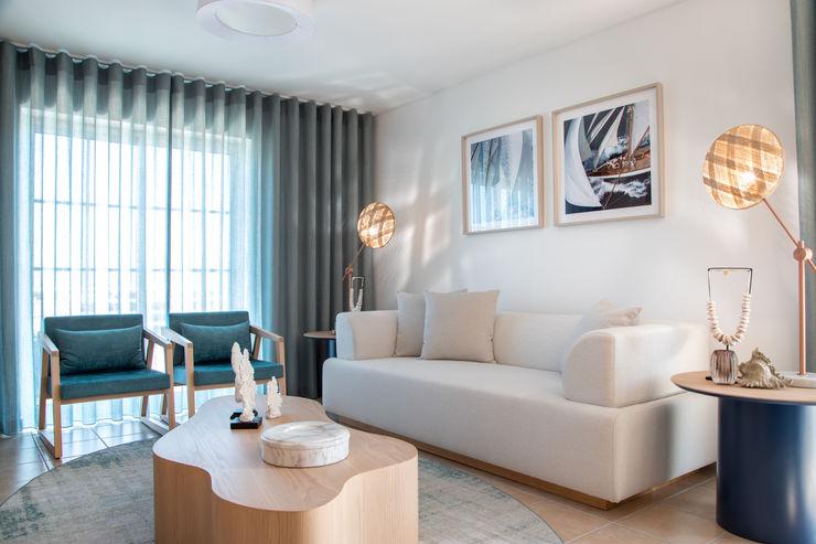Roof Top Formosa Victor Guerra.Design Salas de estar mediterrânicas