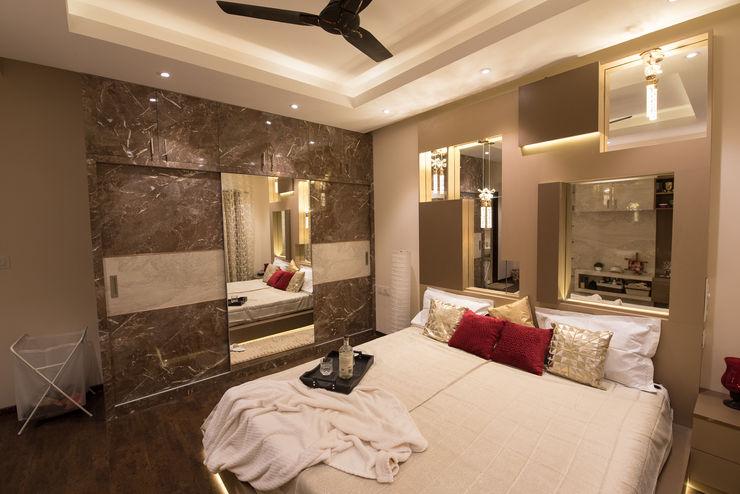 Modern Master Bedroom by Aikaa Designs Aikaa Designs Modern style bedroom