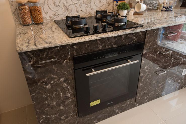 Minimalist Kitchen by Aikaa Designs Aikaa Designs Kitchen units