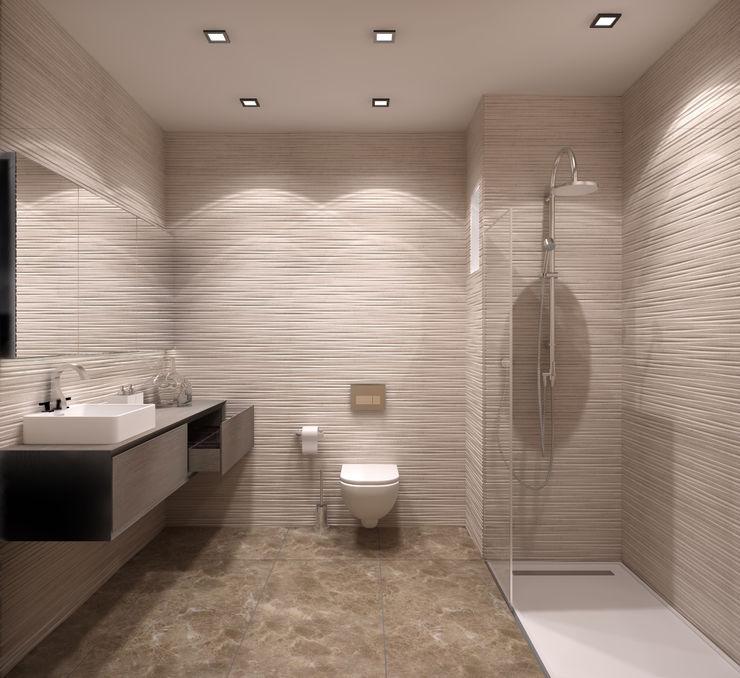 ms mimarlık Moderne Badezimmer