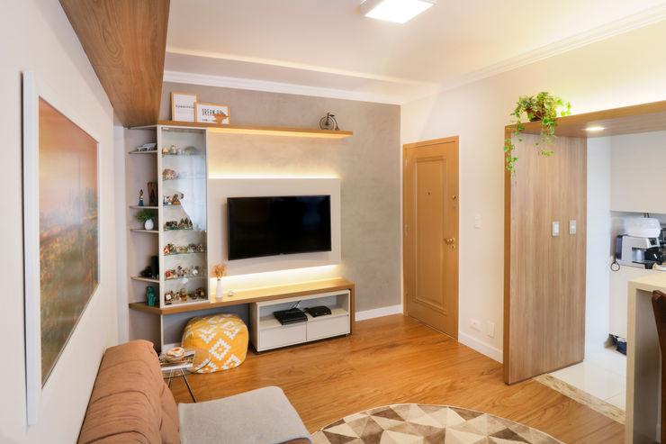 MOOD- Apartamento Alameda Santos Estúdio Mood Salas de estar rústicas