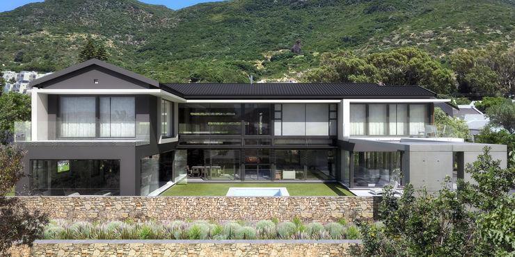 DOWN to Earth Architects & Interiors Vorgarten Eisen/Stahl Grau