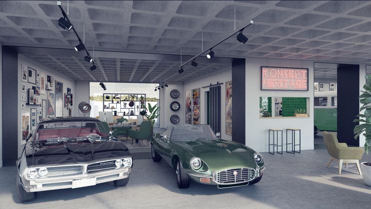 Rafaela Fraga Brás Design de Interiores & Homestyling Car Dealerships Concrete
