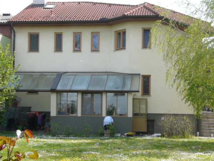 alter Sommergarten vor Umbau archipur Architekten aus Wien Moderne Häuser