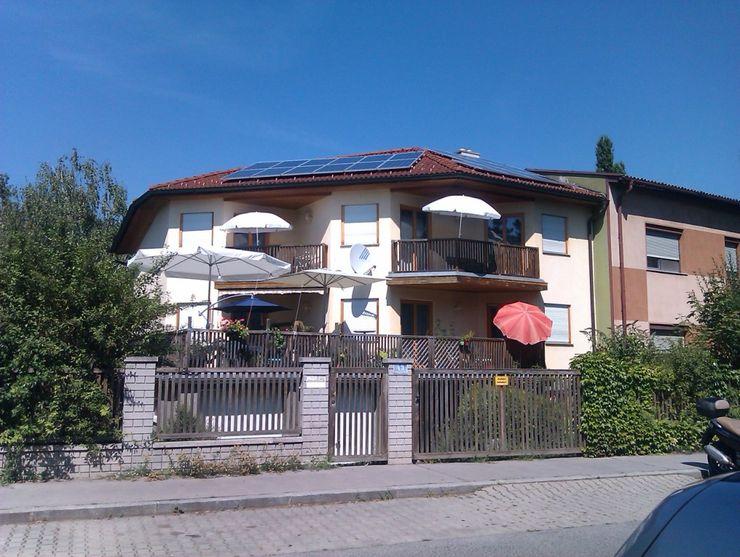 Südwestansicht vor dem Umbau archipur Architekten aus Wien Moderne Häuser