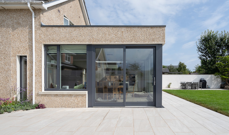 Contemporary Extension Project Photography Hackett Visuals Single family home Quartz Beige