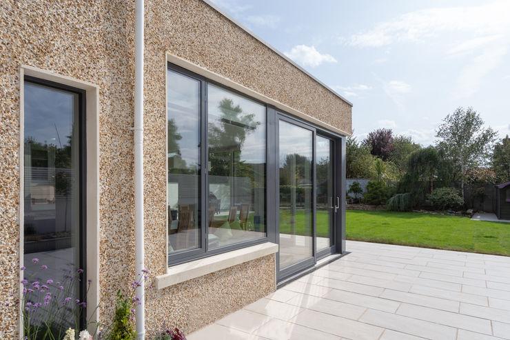 Contemporary Extension Project Photography Hackett Visuals Balcony Bricks Black