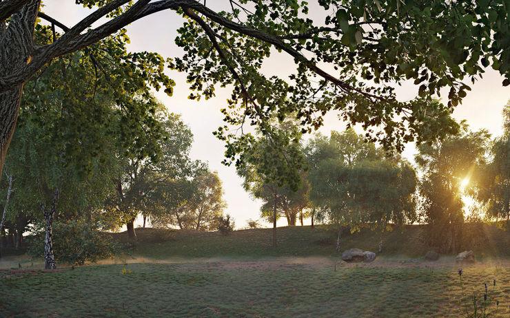 Aleksandra Kostyuchkova Classic style garden