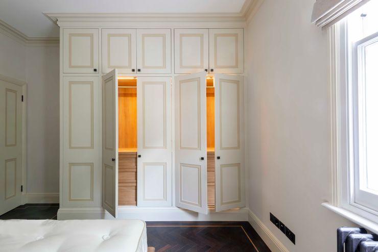 Impeccable illumination Prestige Architects By Marco Braghiroli Спальня