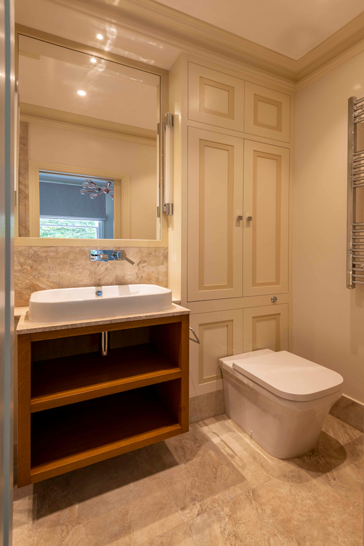 The bathroom Prestige Architects By Marco Braghiroli Ванна кімната
