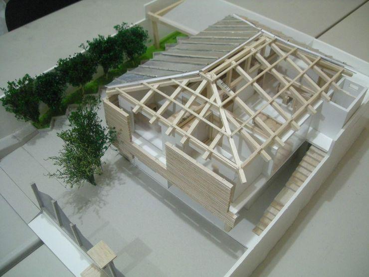 ACORDES 7D ESTUDIO DE ARQUITECTURA Casas de madera Derivados de madera Acabado en madera
