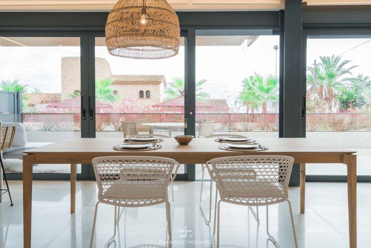 Mesa y sillas de comedor Francisco Pomares Arquitecto / Architect ComedorMesas Madera maciza