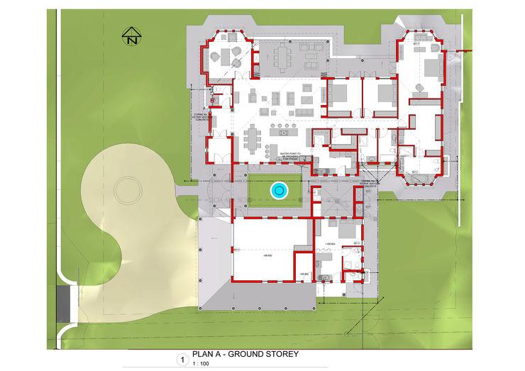 Ground Floor Plan Nuclei Lifestyle Design