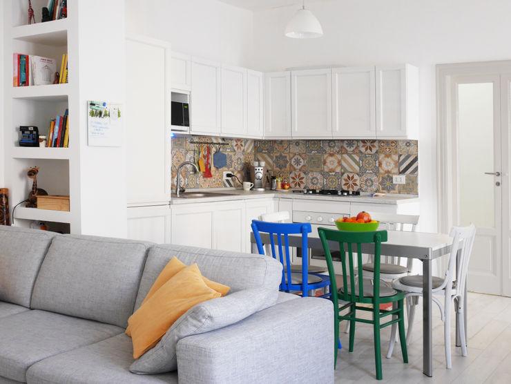 Angolo cottura studio di progettazione architetto caterina martini Soggiorno moderno