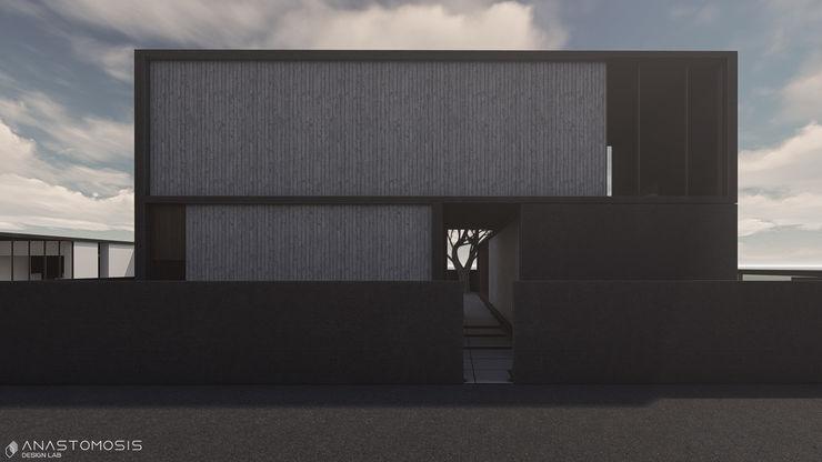 Anastomosis Design Lab Casas de estilo minimalista