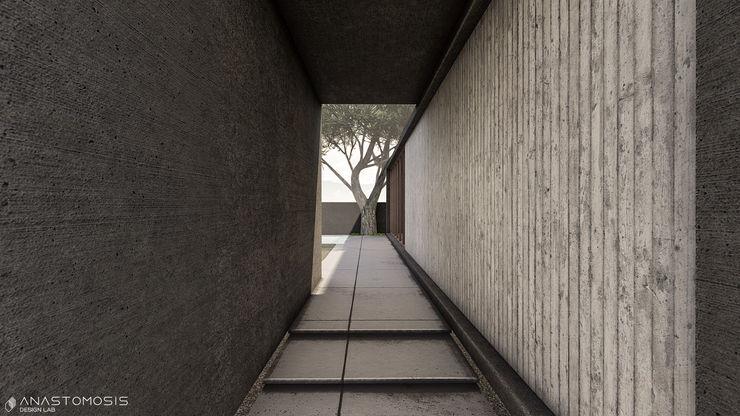 Anastomosis Design Lab Pasillos, vestíbulos y escaleras de estilo minimalista