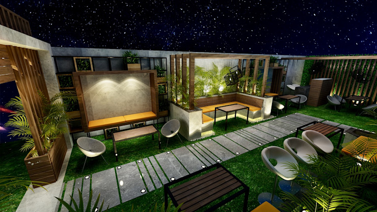 Micasa Design Zen-tuin Hout Hout