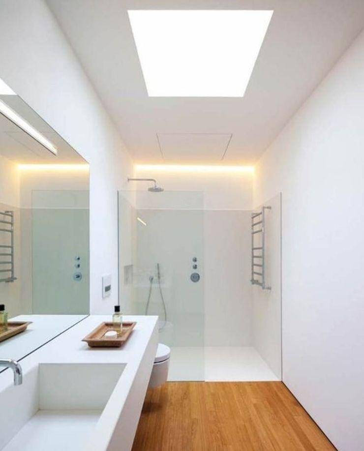 Comercial Ébano Spa Modern bathroom White