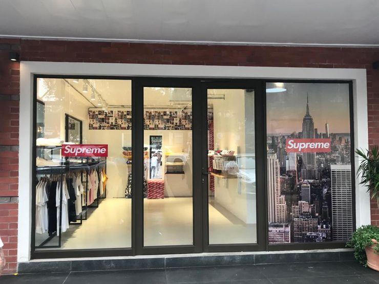 Mağaza Cephesi Kalya İç Mimarlık \ Kalya Interıor Desıgn Dükkânlar Aluminyum/Çinko Siyah