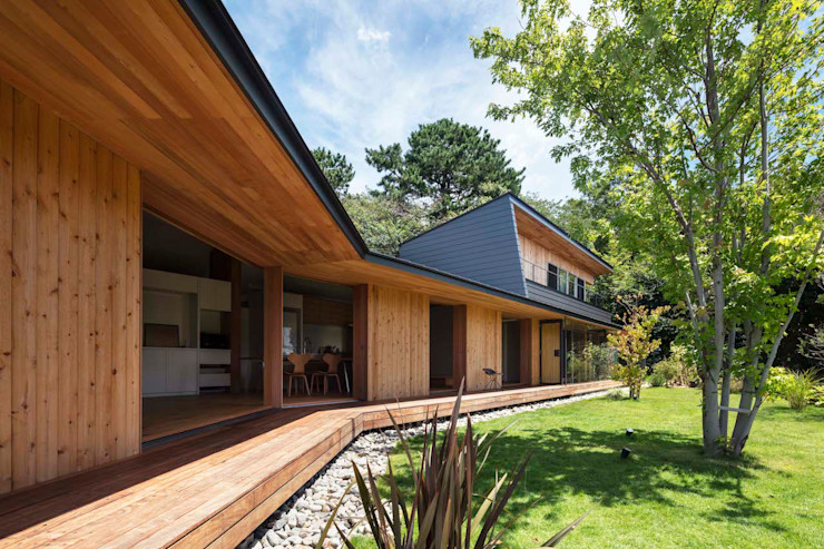 hm+architects 一級建築士事務所 Wooden houses Wood Wood effect