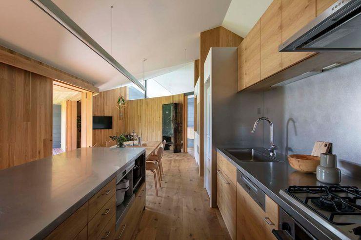 hm+architects 一級建築士事務所 Modern Kitchen