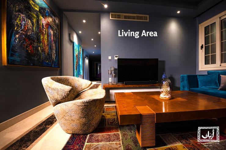 Ariaf Authentic Design House Вітальня