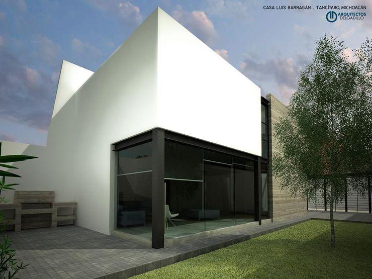Casa Estudio Tancitaro Mich. ARQUITECTOS DELGADILLO Casas pequeñas Concreto Multicolor