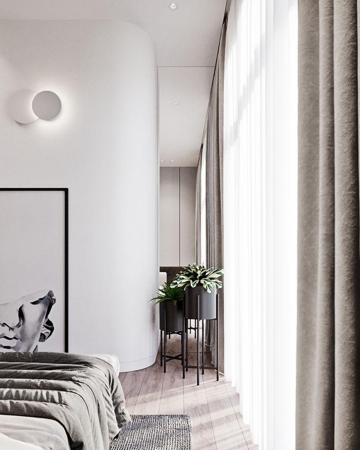 Y.F.architects Dormitorios de estilo minimalista
