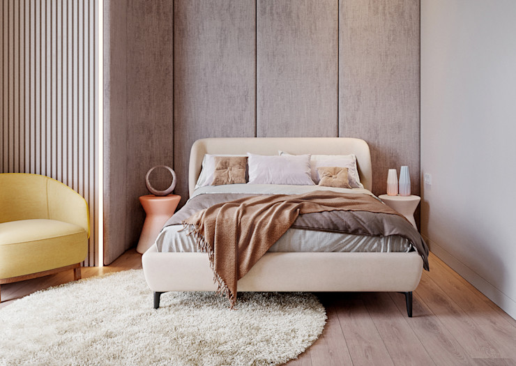 Y.F.architects Dormitorios infantiles de estilo minimalista