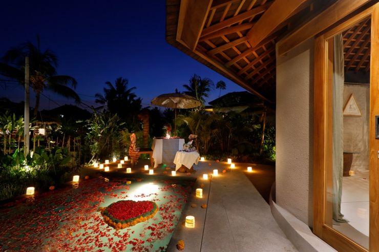 WaB - Wimba anenggata architects Bali Hoteles Madera Acabado en madera