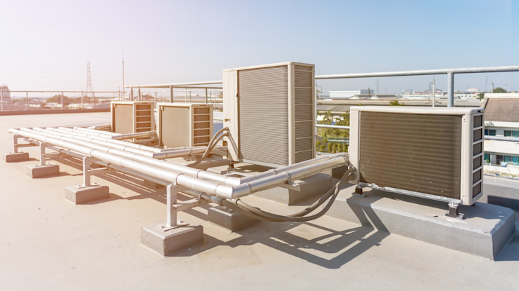 What are the Different Types of Commercial Air Conditioning? Home Renovation Rumah pasif