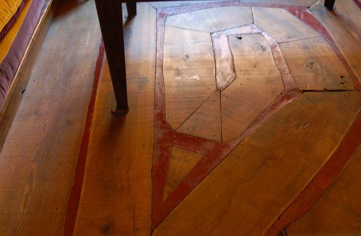 Wooden Floor ARTE DELL'ABITARE Paredes y suelosRevestimientos de paredes y suelos Madera maciza Multicolor