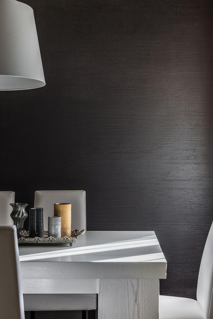 Appartamento privato a Bergamo Resin srl Sala da pranzo moderna