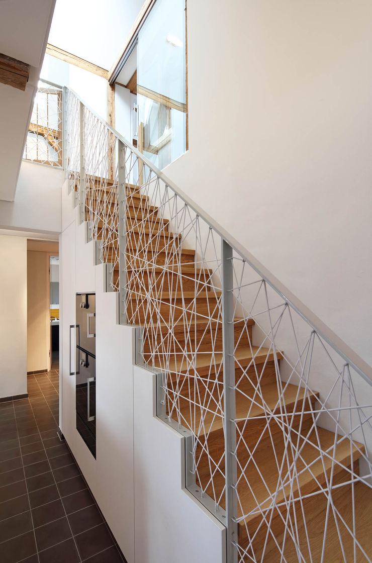 Treppe Architekturbüro zwo P Treppe Holz Braun