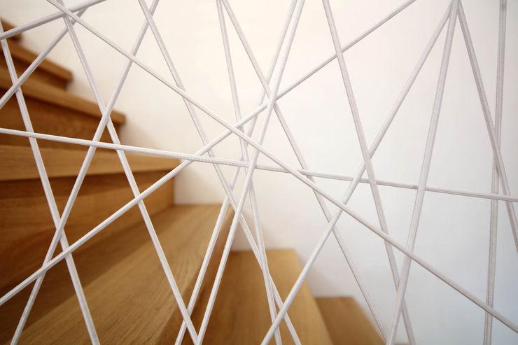 Treppengeländer Architekturbüro zwo P Treppe Holz Braun