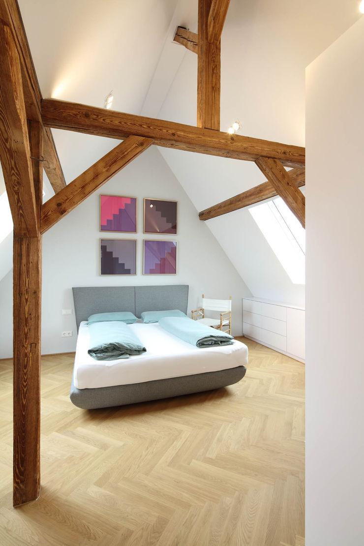 Schlafzimmer Architekturbüro zwo P Moderne Schlafzimmer Holz Braun