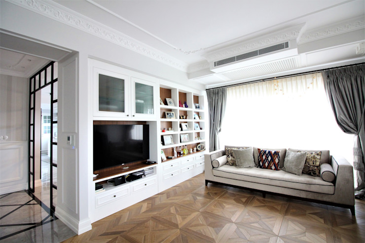 OAK SMOKED Lantana Parke Modern Oturma Odası Ahşap Ahşap rengi