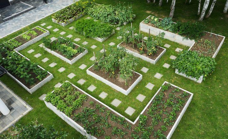 Warzywniki - Betonowe Rabaty Warzywne Garden Furniture