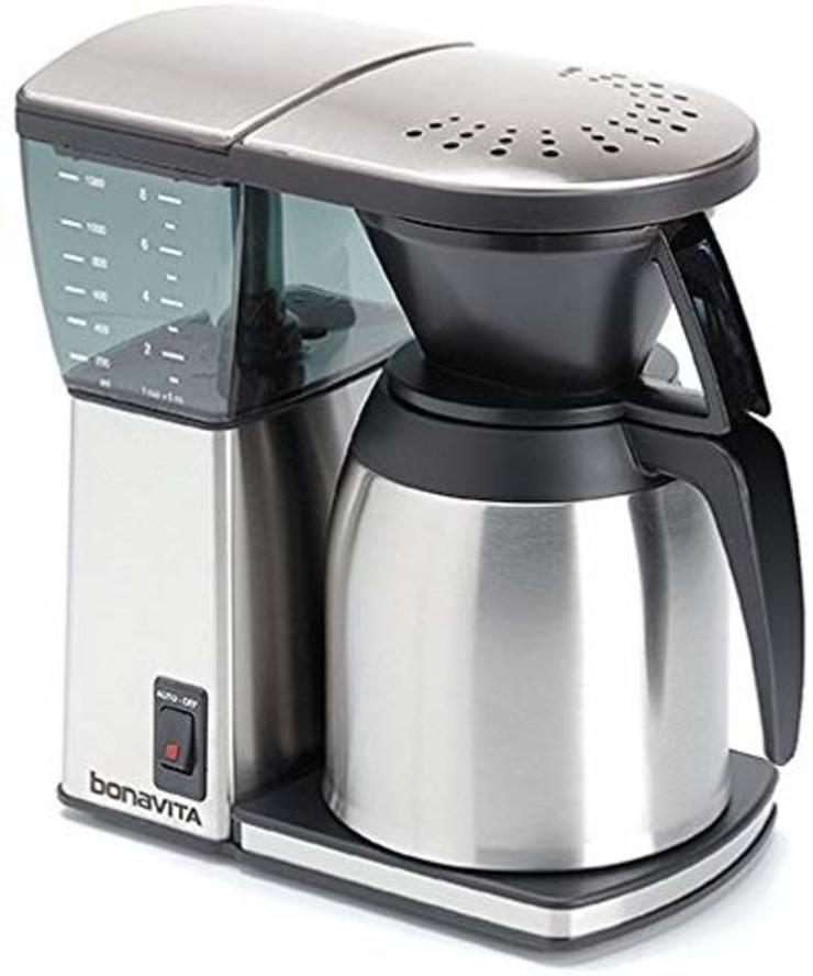 Bonavita 8-Cup Coffee Brewer Detailed Review WhyNotCoffee КухняЭлектроника