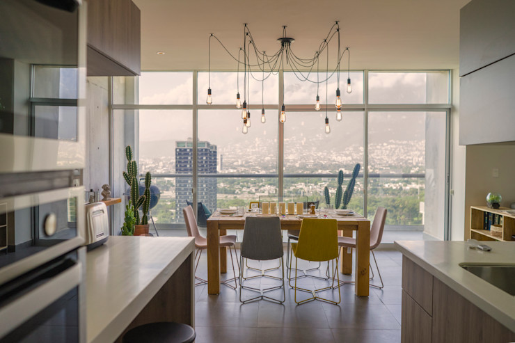 RAG Arquitectos Eclectic style dining room
