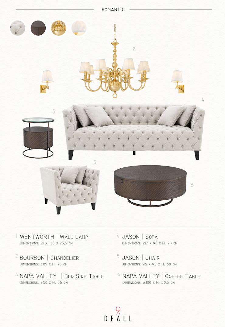 DeALL Classic style living room White