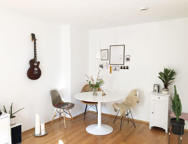 KANOS Design Phòng ăn phong cách Bắc Âu Gỗ White