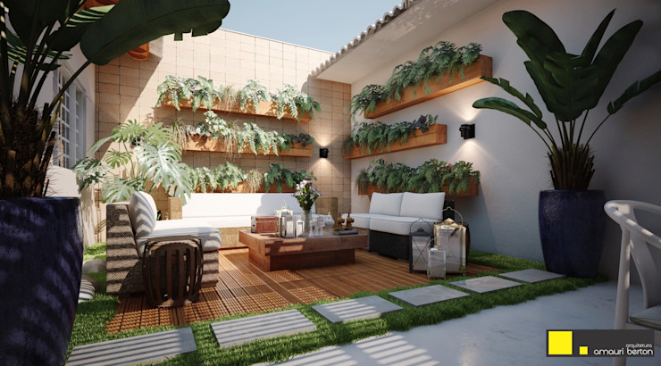 Amauri Berton Arquitetura Balkon